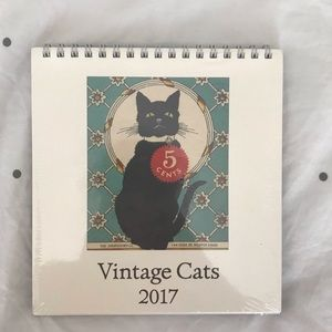 [Paper Source] Vintage Cats Calendar